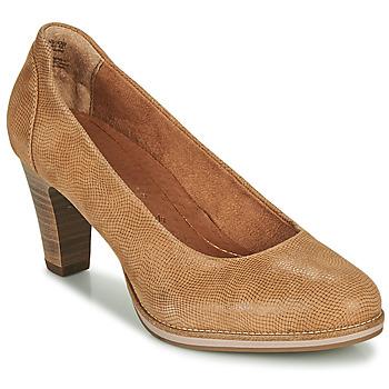 Shoes Women Heels Tamaris FEELINA Brown