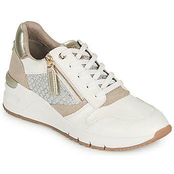 Shoes Women Low top trainers Tamaris REA White / Gold