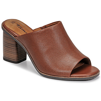 Shoes Women Mules Tamaris NOAMY Brown