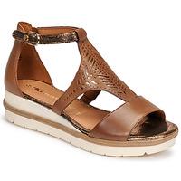 Shoes Women Sandals Tamaris EDA Brown