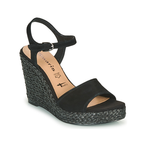 Shoes Women Sandals Tamaris CYNARA Black