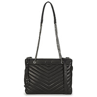 Bags Women Small shoulder bags Ikks 1440 REPORTER Black