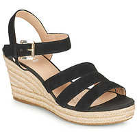 Shoes Women Sandals Geox D SOLEIL C Black