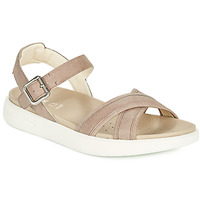 Shoes Women Sandals Geox D XAND 2S B Beige