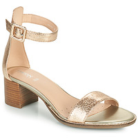 Shoes Women Sandals Geox D SOZY MID E Gold