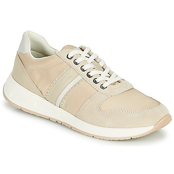 Shoes Women Low top trainers Geox D BULMYA A Beige