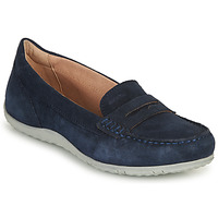 Shoes Women Loafers Geox D VEGA MOC A Marine