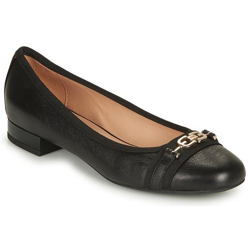 Shoes Women Flat shoes Geox D WISTREY D Black