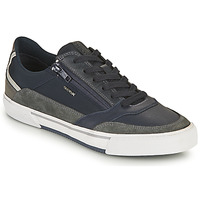 Shoes Men Low top trainers Geox U KAVEN B Marine