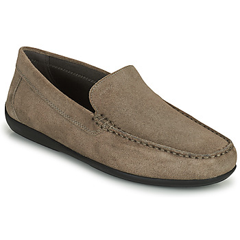 Shoes Men Loafers Geox U ASCANIO A Brown