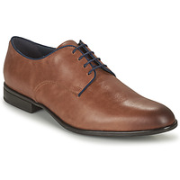 Shoes Men Derby Shoes Geox U IACOPO C Cognac