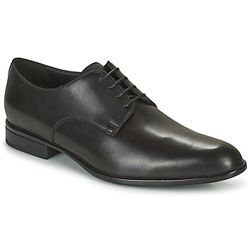 Shoes Men Derby Shoes Geox U IACOPO C Black