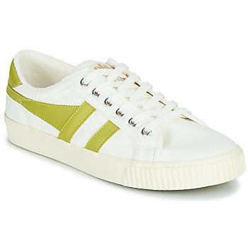 Shoes Women Low top trainers Gola TENNIS MARK COX White / Yellow