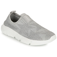 Shoes Girl Slip-ons Geox ARIL GIRL Grey