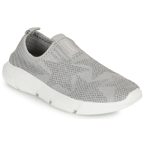 Shoes Girl Slip-ons Geox ARIL GIRL Grey