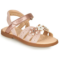 Shoes Girl Sandals Geox SANDAL KARLY GIRL Pink