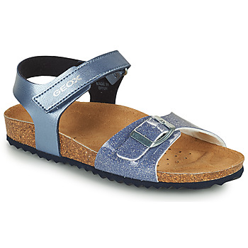 Shoes Girl Sandals Geox ADRIEL GIRL Blue