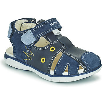 Shoes Boy Sandals Geox SANDAL DELHI BOY Marine