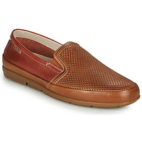 Shoes Men Loafers Pikolinos ALTET M4K Brown / Blue