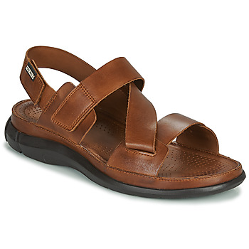 Shoes Men Sandals Pikolinos OROPESA M3R Brown