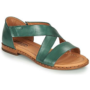 Shoes Women Sandals Pikolinos ALGAR W0X Blue