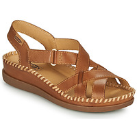 Shoes Women Sandals Pikolinos CADAQUES W8K Brown