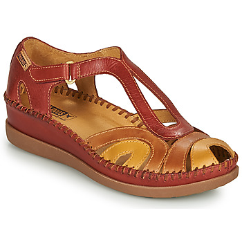 Shoes Women Sandals Pikolinos CADAQUES W8K Red / Beige