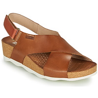 Shoes Women Sandals Pikolinos MAHON W9E Brown