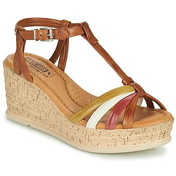 Shoes Women Sandals Pikolinos MIRANDA W2F Brown
