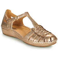 Shoes Women Flat shoes Pikolinos P. VALLARTA 655 Gold