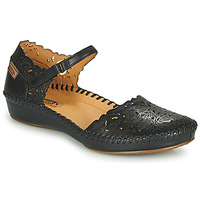 Shoes Women Flat shoes Pikolinos P. VALLARTA 655 Black
