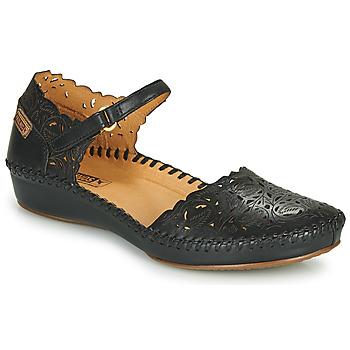 Shoes Women Flat shoes Pikolinos P. VALLARTA 655 Black