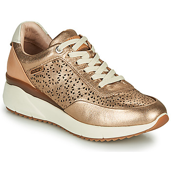 Shoes Women Low top trainers Pikolinos SELLA W6Z Gold