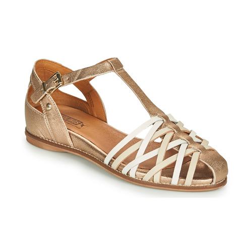 Shoes Women Sandals Pikolinos TALAVERA W3D Gold
