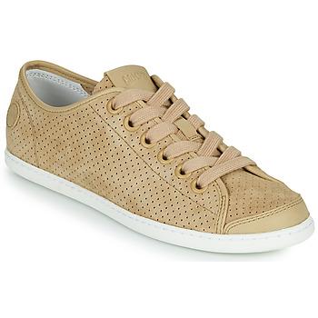 Shoes Women Low top trainers Camper UNO Beige