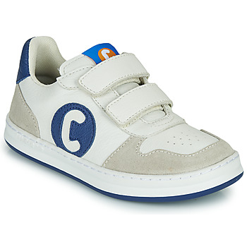 Shoes Boy Low top trainers Camper RUNNER White / Blue