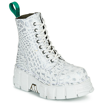 Shoes Mid boots New Rock M-MILI083C-V9 White