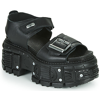 Shoes Men Sandals New Rock M-BIOS108-C6 Black