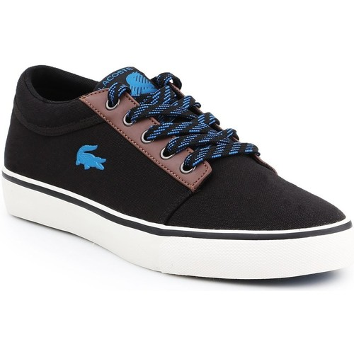 Shoes Men Low top trainers Lacoste Vaultstar WT 418 1 BRZ 7-36CAM00921Z2 black