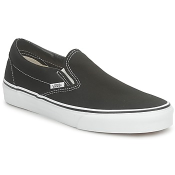 Shoes Low top trainers Vans CLASSIC SLIP-ON Black