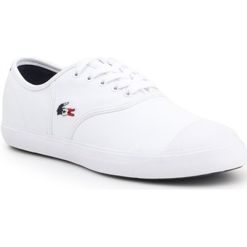 Shoes Men Low top trainers Lacoste Rene 119 2 CMA 7-37CMA0065407 white