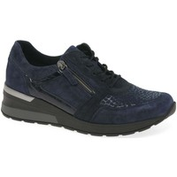 Shoes Women Low top trainers Waldläufer Chloe Womens Trainers blue