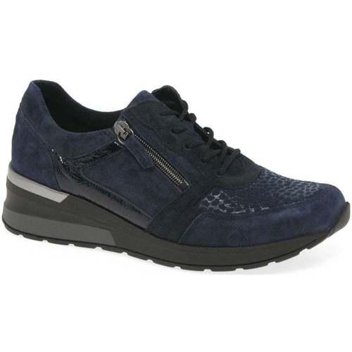 Shoes Women Low top trainers Waldläufer Chloe Womens Trainers blue