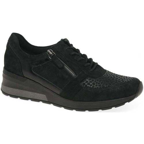Shoes Women Low top trainers Waldläufer Chloe Womens Trainers black