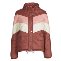 Clothing Women Duffel coats Deeluxe CLAUDINE Red / Pink