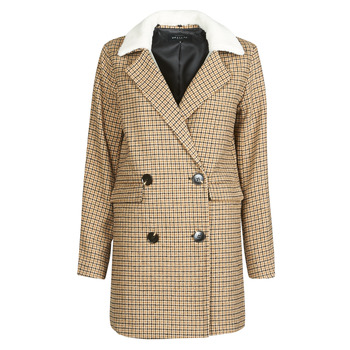 Clothing Women Jackets Deeluxe PAULETTE Beige