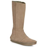 Shoes Women High boots El Naturalista LUX Brown