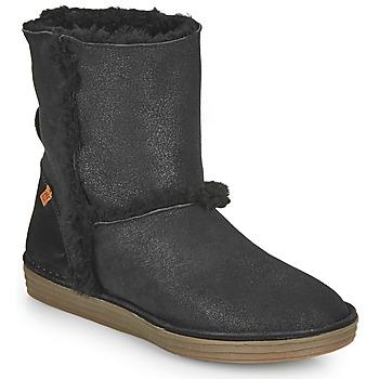 Shoes Women High boots El Naturalista LUX Black