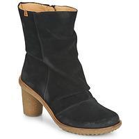 Shoes Women Ankle boots El Naturalista LUX Black