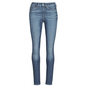Clothing Women Skinny jeans G-Star Raw 3301 Ultra High Super Skinny Wmn Dk / Aged